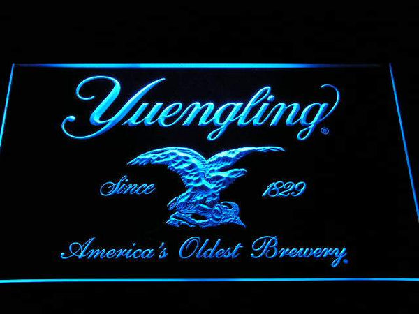 Yuengling Beer LED Neon Sign a224 - Blue