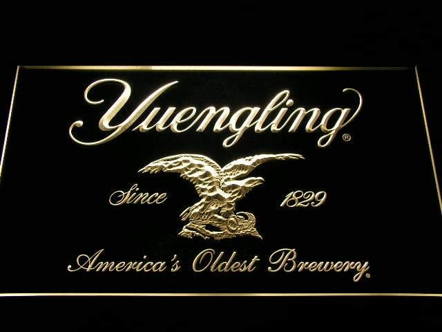 Yuengling Beer LED Neon Sign a224 - Yellow