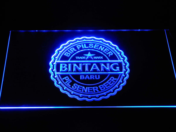 Bintang Beer LED Neon Sign a244 - Blue