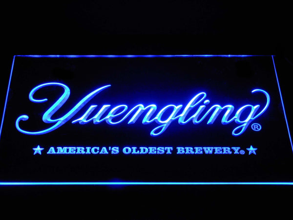 Yuengling America'S Oldest Brewery Beer LED Neon Sign a269 - Blue