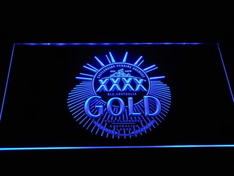 Castlemaine XXXX Gold Label LED Neon Sign