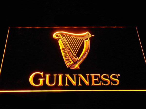 Guinness Golden Harp Beer LED Neon Sign