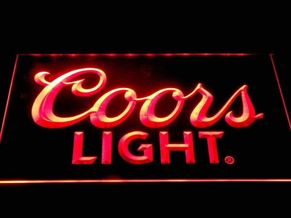 Coors Light Big Logo LED Neon Sign