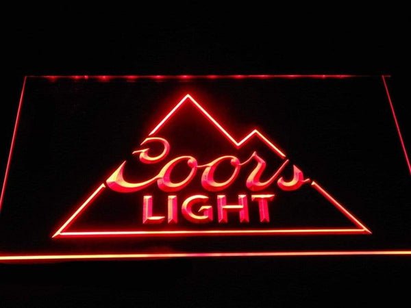Coors Light Inside Rockies LED Neon Sign