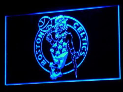Boston Celtics NBA LED Neon Sign b002 - Blue