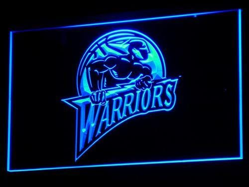 Golden State Warriors Old Logo LED Neon Sign b009 - Blue