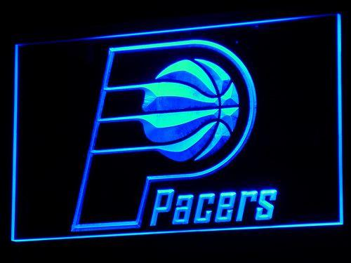 Indiana Pacers Basketball LED Neon Sign b011 - Blue