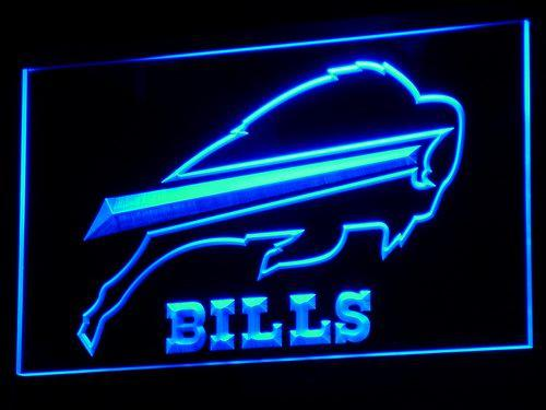 Buffalo Bills Football LED Neon Sign b034 - Blue