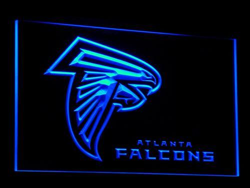 Atlanta Falcons Football LED Neon Sign b065 - Blue