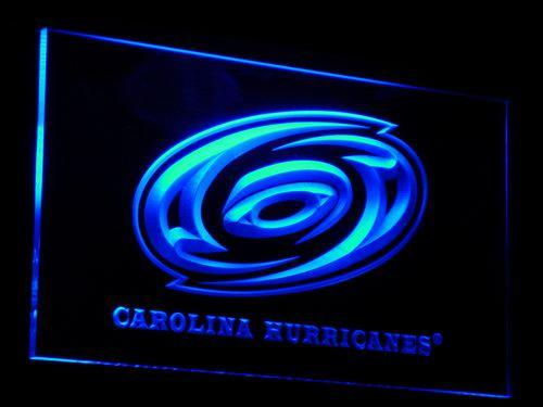 Carolina Hurricanes NHL LED Neon Sign b081 - Blue
