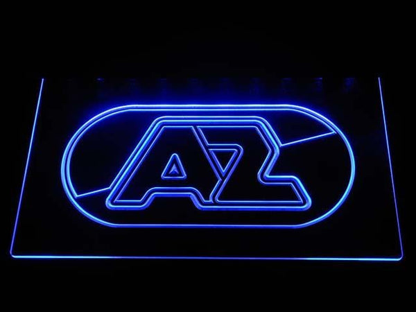 AZ Alkmaar Zaanstreek Eredivisie Football LED Neon Sign b1010 - Blue