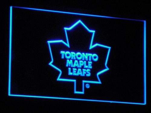 Toronto Maple Leafs NHL LED Neon Sign b103 - Blue