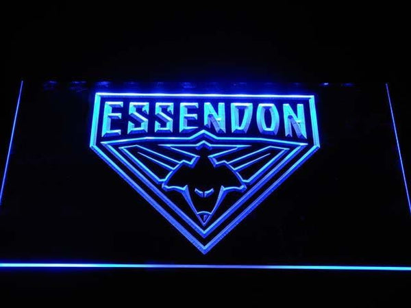 Essendon AU Football Club LED Neon Sign b1040 - Blue