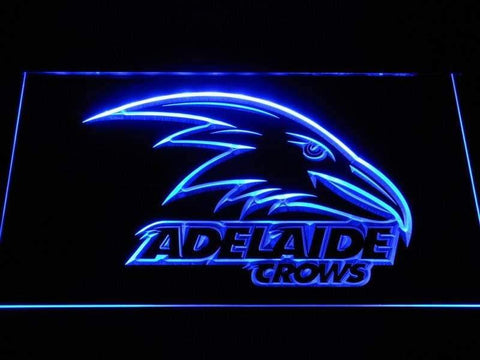Adelaide Crows AU Football Club LED Neon Sign b1047 - Blue