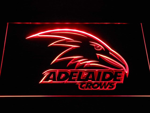 Adelaide Crows AU Football Club LED Neon Sign b1047 - Red