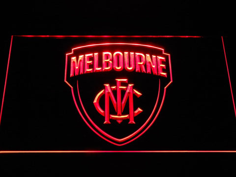Melbourne Demons AU Football Club LED Neon Sign b1055 - Red