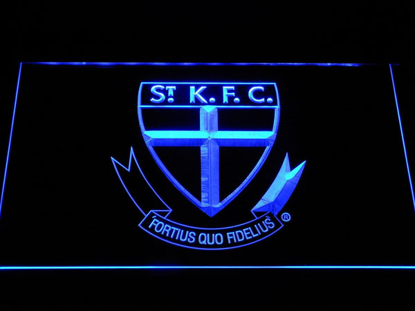St. Kilda Saints AU Football Club LED Neon Sign b1059 - Blue