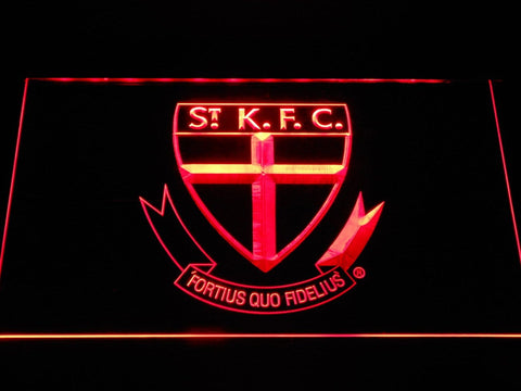 St. Kilda Saints AU Football Club LED Neon Sign b1059 - Red