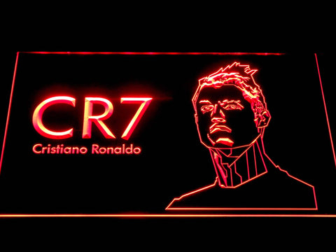 Real Madrid CF Cristiano Ronaldo LED Neon Sign b1072 - Red