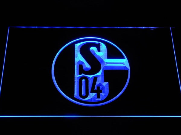 FC Schalke 04 FC Bundesliga  LED Neon Sign b1076 - Blue