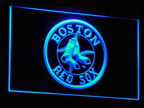 Boston Red Sox Baseball LED Neon Sign b113 - Blue