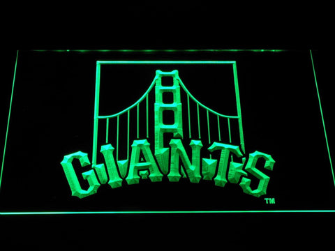 San Francisco Giants Golden Gate Bridge MLB LED Neon Sign b1186 - Green
