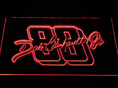 Dale Earnhard JR.  Signature 88 LED Neon Sign b1228 - Red