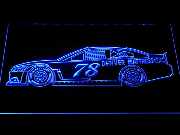 Martin Truex Jr. Race Car LED Neon Sign b1237 - Blue