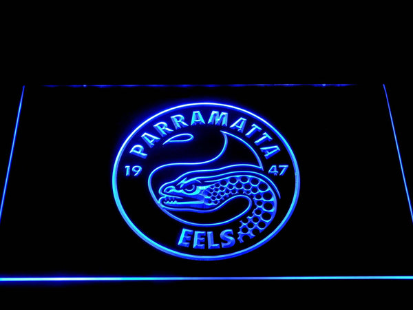 Parramatta Eels Rugby LED Neon Sign b1251 - Blue