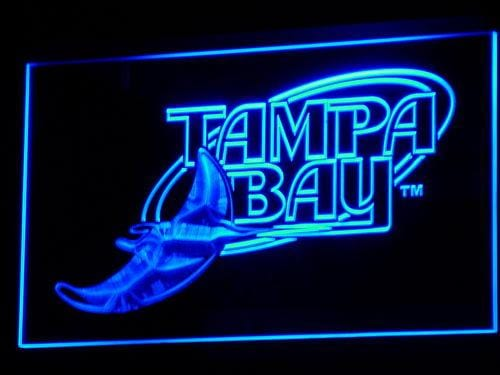 Tampa Bay Rays 2001-2007 LED Neon Sign b125 - Blue