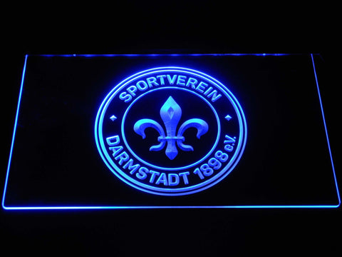 Darmstadt 98 Football LED Neon Sign b1272 - Blue