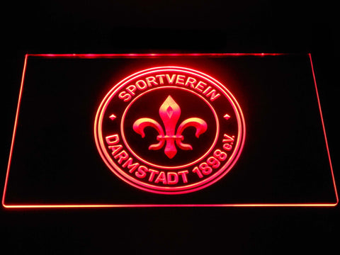 Darmstadt 98 Football LED Neon Sign b1272 - Red