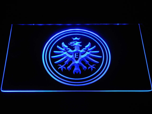 Eintracht Frankfurt FC Bundesliga LED Neon Sign b1273 - Blue