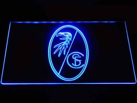 SC Freiburg  Football LED Neon Sign b1274 - Blue