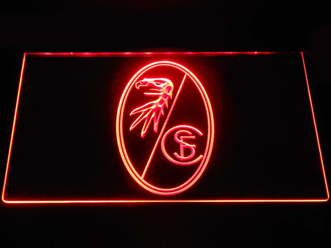 SC Freiburg  Football LED Neon Sign b1274 - Red