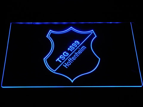 TSG 1899 Hoffenheim Football LED Neon Sign b1277 - Blue