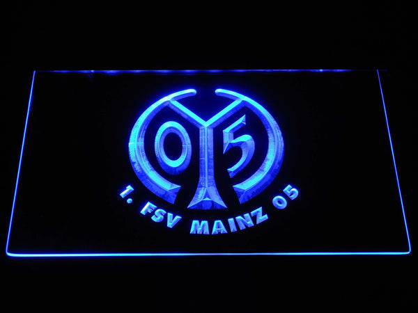 1. Fsv Mainz 05 Football Bundesliga LED Neon Sign b1281 - Blue