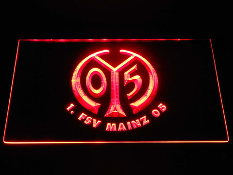 1. Fsv Mainz 05 Football Bundesliga LED Neon Sign b1281 - Red