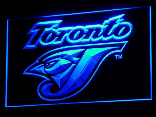 Toronto Blue Jays MLB LED Neon Sign b128 - Blue