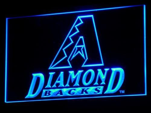 Arizona Diamondbacks Baseball LED Neon Sign b129 - Blue
