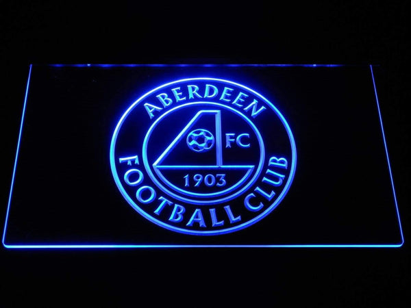 Aberdeen FC LED Neon Sign b1301 - Blue