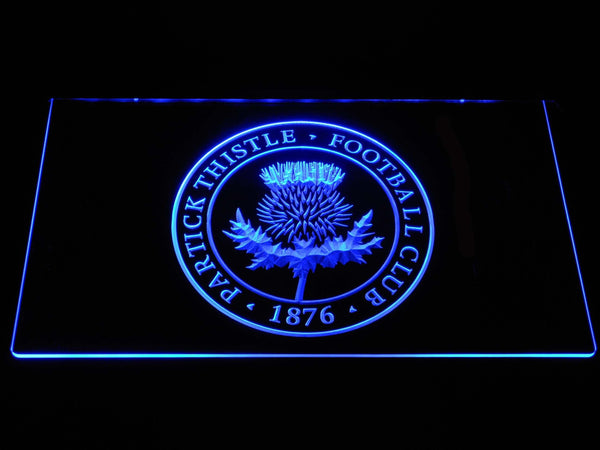Partick Thistle F.C. LED Neon Sign b1308 - Blue