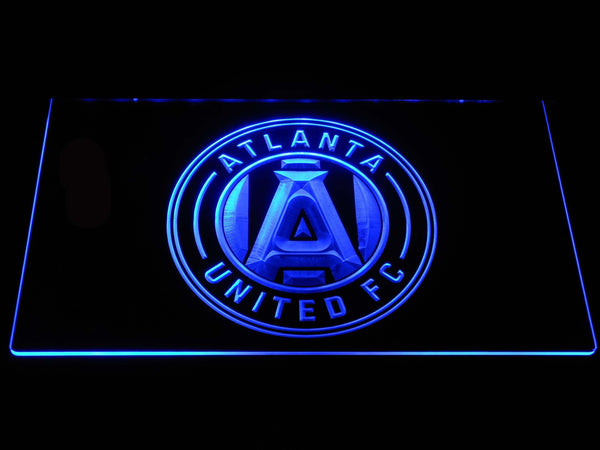 Atlanta United FC LED Neon Sign b1311 - Blue