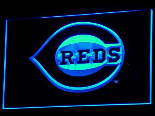 Cincinnati Reds MLB LED Neon Sign b132 - Blue