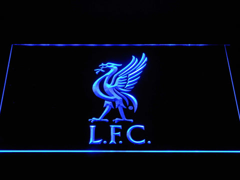 Liverpool Football Club Liver Bird LFC LED Neon Sign b1374 - Blue