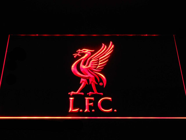 Liverpool Football Club Liver Bird LFC LED Neon Sign b1374 - Red