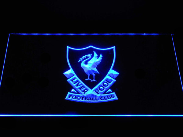 Liverpool Football Club  LED Neon Sign b1375 - Blue