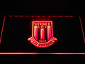 Stoke City FC Football LED Neon Sign b1383 - Red
