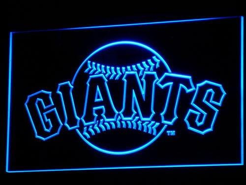San Francisco Giants Baseball LED Neon Sign b142 - Blue