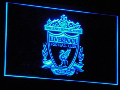 Liverpool Football Club LED Neon Sign b212 - Blue